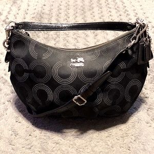 Coach Madison Dotted Art Hobo paid $298 Like New!